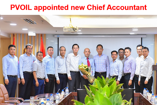 PVOIL appointed new Chief Accountant