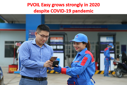 PVOIL Easy grows strongly in 2020 despite COVID-19 pandemic