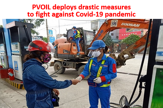 PVOIL deploys drastic measures to fight against Covid-19 pandemic