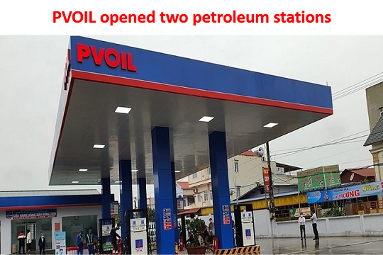 PVOIL opened two petroleum stations