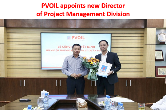 PVOIL appoints new Director of Project Management Division