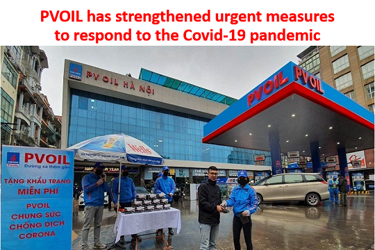 PVOIL has strengthened urgent measures to respond to the Covid-19 pandemic