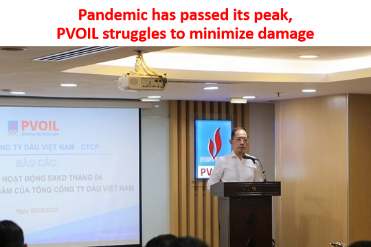 Pandemic has passed its peak, PVOIL struggles to minimize damage