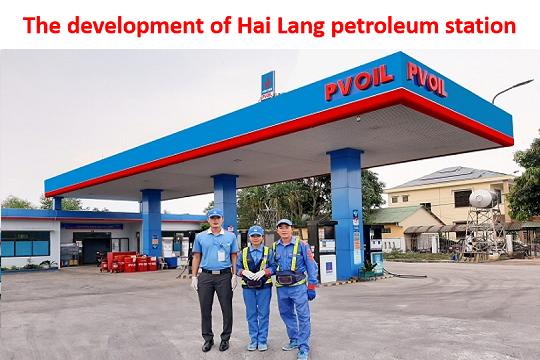 The development of Hai Lang petroleum station