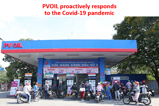 PVOIL proactively responds to the Covid-19 pandemic