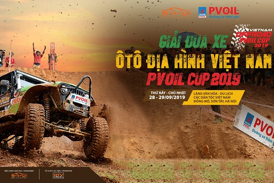 Vietnam Offroad Cup 2019 named Vietnam Offroad PVOIL Cup