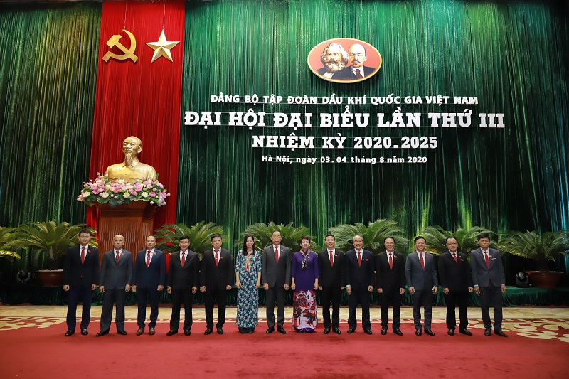PVOIL Party delegates attend PetroVietnam's Party Congress