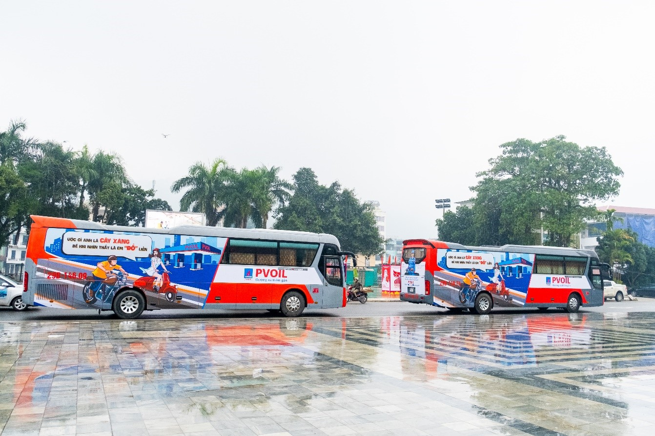 PVOIL launches Trans-Vietnam Journey roadshow to promote brand