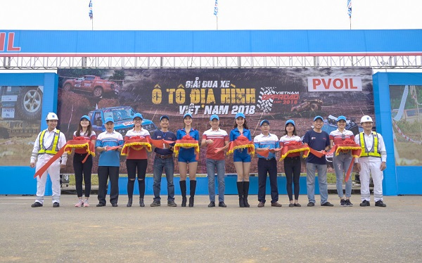 VOC 2018 officially started. PVOIL companion with Off-road racing as Platinum Sponsor